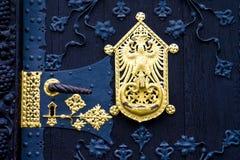 utsmyckad dörr Royaltyfria Bilder