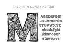 Utsmyckad dekorativ vektorstilsort Arkivbild