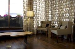 Utsmyckad hotelllobby royaltyfri fotografi