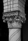utsmyckad kolonn Arkivfoto