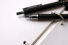 utsmyckad pennset Fotografering för Bildbyråer