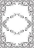 Utsmyckad ram Royaltyfri Bild