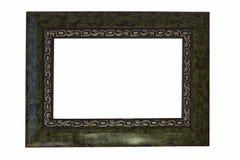 utsmyckad ramguldgreen Arkivbild