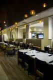 Utsmyckad restaurang för hotellstång Royaltyfri Foto