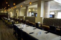 Utsmyckad restaurang för hotellstång Royaltyfria Bilder