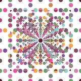 utsmyckad seamless textur Arkivfoto