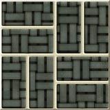Utsmyckad seamless textur Arkivbilder