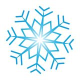 Utsmyckad snöflinga royaltyfri bild