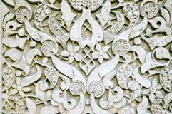 Utsmyckad väggtextur Royaltyfri Bild