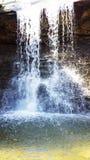 Utsmyckad vattenfall arkivfoto