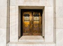 utsmyckade dörrar Royaltyfria Foton