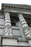 Utsmyckade kolonner Arkivbilder