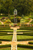 Utsmyckade trädgårdar Fotografering för Bildbyråer