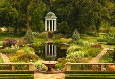 Utsmyckade trädgårdar Arkivbilder