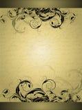 utsmyckat baner royaltyfri illustrationer