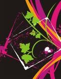 utsmyckat blom- för bakgrund vektor illustrationer