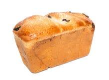 Utsmyckat bröd med russinet royaltyfria foton