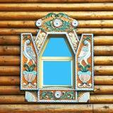 utsmyckat fönster royaltyfri fotografi