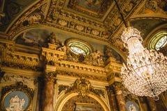 Utsmyckat guld- inlägg arkivfoto