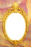 Utsmyckat hänga för bildram royaltyfria foton