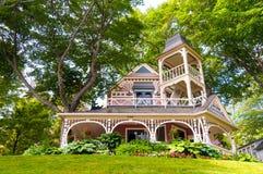 utsmyckat hus Arkivbild