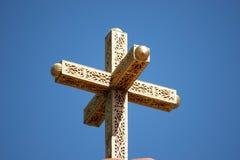 utsmyckat kors royaltyfri foto