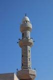 utsmyckat spensligt för minaret arkivfoton