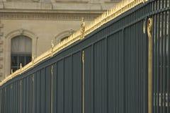 utsmyckat staket royaltyfri fotografi