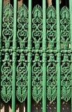 utsmyckat staket royaltyfri bild