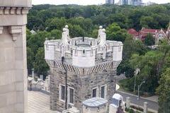 Utsmyckat torn arkivbild