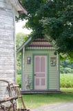 Utsmyckat uthus fotografering för bildbyråer