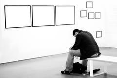 utställning 2009 mig berättelseswpa Arkivfoton