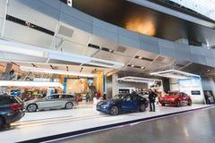 Utställning av BMW bilarna Royaltyfri Foto