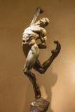 Utställning av statyCirque du Soleil konstnärer på det Bellagio Het Royaltyfri Fotografi