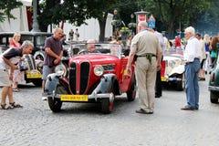 Utställning av tappningbilar fotografering för bildbyråer
