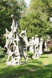 Utställning av utomhus- skulpturer Royaltyfria Foton