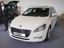 utställning för 2013 ny bilar Royaltyfri Fotografi