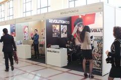 Utställning för expo för Shanghai lyxig livsstiltidskrift Royaltyfri Bild