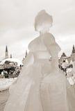 Utställning för isskulptur på den röda fyrkanten Royaltyfria Bilder