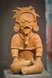 Utställning från kulturellt mittmuseum i Manta Arkivbild