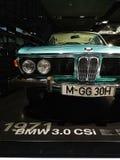 Utställning i BMW museet, Munich, Tyskland arkivfoton