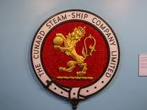 Utställning i det maritima museet på Albert Dock i Liverpool Merseyside England royaltyfri fotografi