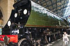 Utställning i det nationella järnväg museet i York, Yorkshire England Royaltyfria Foton
