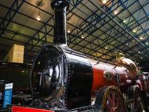 Utställning i det nationella järnväg museet i York, Yorkshire England Royaltyfri Bild