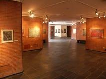 Utställning i museum Arkivbilder