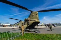 Utställning ILA Berlin Air Show 2018 Royaltyfri Foto