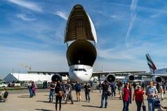 Utställning ILA Berlin Air Show 2018 Royaltyfria Bilder