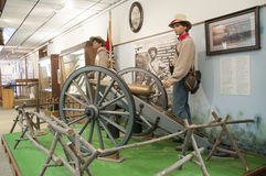 Utställning på det Oklahoma 45th museet Royaltyfria Bilder