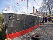 utställning titanic inverness Royaltyfri Foto