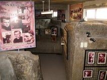 Utställningar av det Polen museet, nationell relikskrin av gudomlig förskoning i Marilao, Bulacan arkivfoto